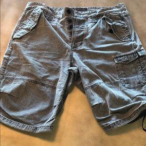 😎 Armani exchange denim cargo shorts